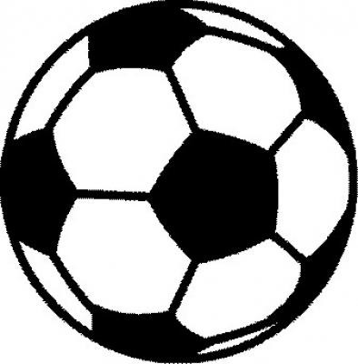 Velours Strijkapplicatie Voetbal