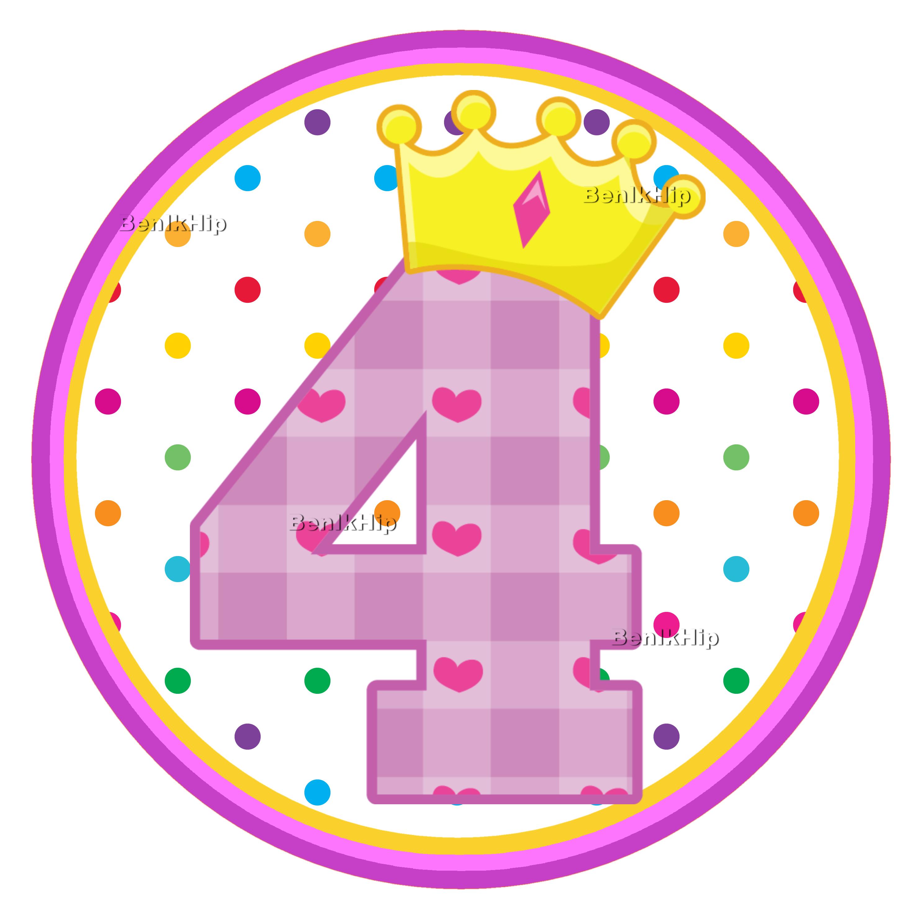 Verjaardag Meisje 4 Jaar
