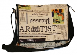 Postbag overslagtas Newspaper krant look