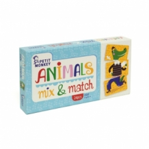 Petit Monkey Mix en Match dierenspel