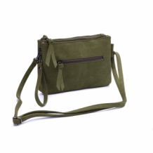 Natural Bag Carmen legergroen, army green, zebra trends