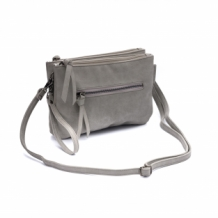 Natural Bag Carmen donker grijs, dark grey, zebra trends