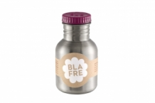 Blafre rvs drinkfles plum