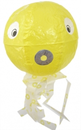 Ballon Octopus geel
