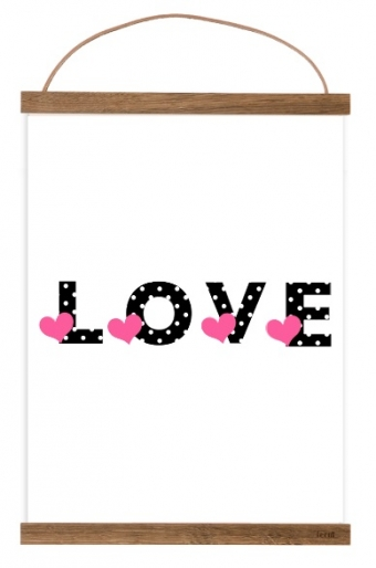 Free Printable poster LOVE