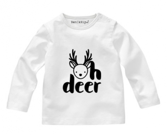Strijkapplicatie Oh Deer